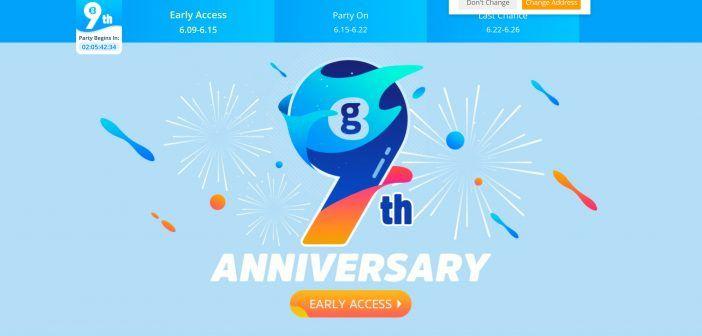 Le site Geekbuying célèbre son 9ème anniversaire.