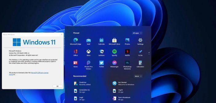 Aperçu de Windows 11